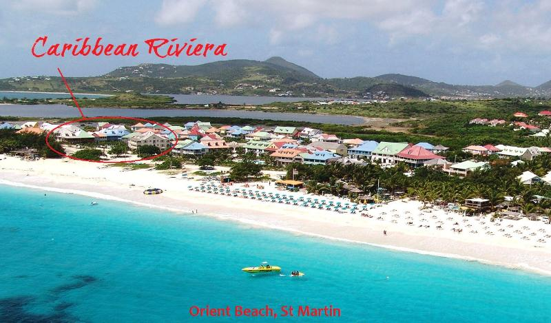APPLE RIVIERA... Sweet contemporary condo on amazing beach! - Image 1 - Saint Martin-Sint Maarten - rentals