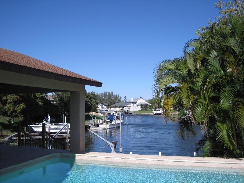 View of pool - rear deck - overlooking the Water