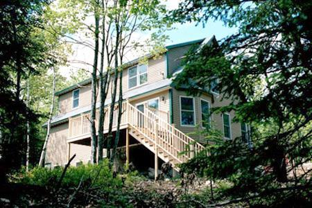 Acadia Woods is located in a residential neighborhood with a wooded 2 acre lot