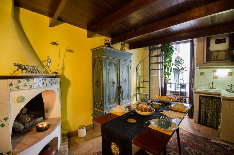 Dining room - Pillowapartments Piazza Navona Stylish Apartment - Rome - rentals