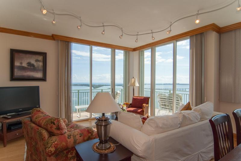 Amazing ocean view from the wrap around balcony