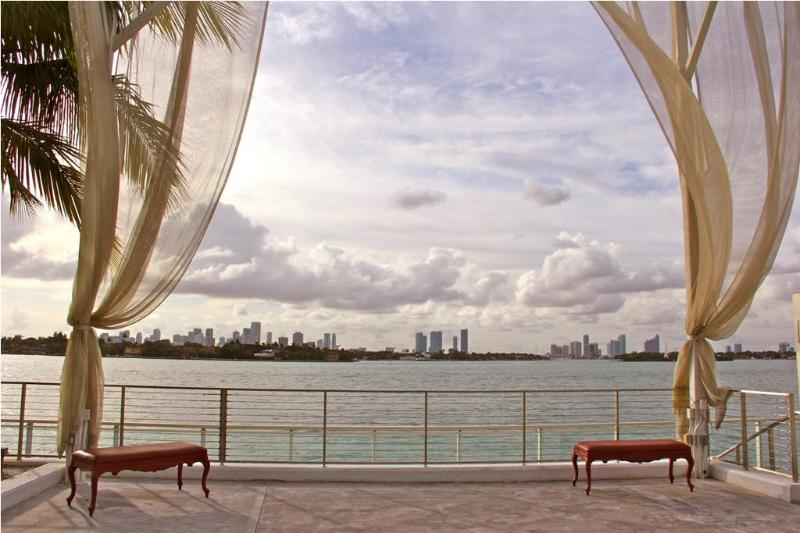 Relax by the Pool while facing the magnificent Bay!