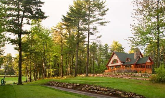 View of house from Sagamore Resort's Golf Course