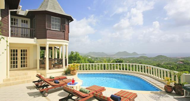 Residence du Cap at Golf Park, Cap Estate, Saint Lucia - Ocean View, In The Hills Of An Old Sugar Plantation, Pool - Image 1 - Cap Estate - rentals