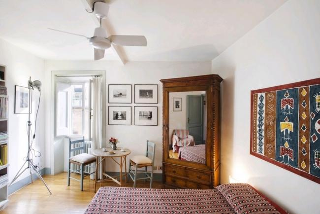 A quiet apartment at the foot of the Janiculum in the Trastevere district. - Image 1 - Rome - rentals