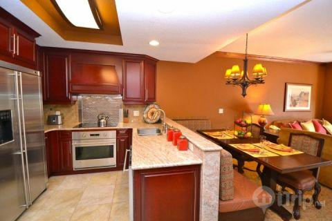 Gourmet kitchen features all stainless steel appliances including french door fridge, oven/stove, dishwasher, microwave and granite counters. Dining r