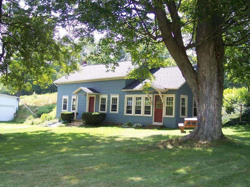 Our farmhouse in the summer