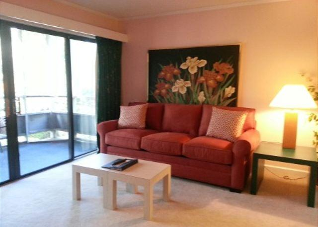 Living Room - Beautiful 2nd Floor Condo Overlooking the Pool - Myrtle Beach - rentals