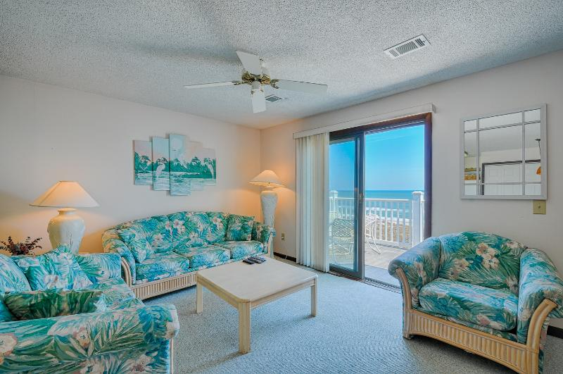 William & Mary 32-A - 2 BR, 2 BA Oceanfront Condo - Image 1 - Carolina Beach - rentals