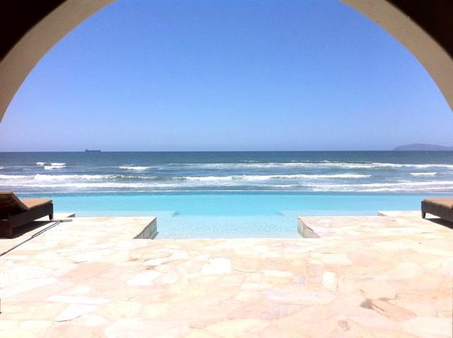Entrance to Infinity Pool & Ocean View