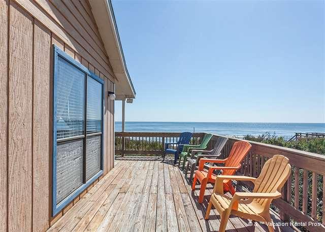 Enjoy sweeping ocean views from our Day Dream House patio