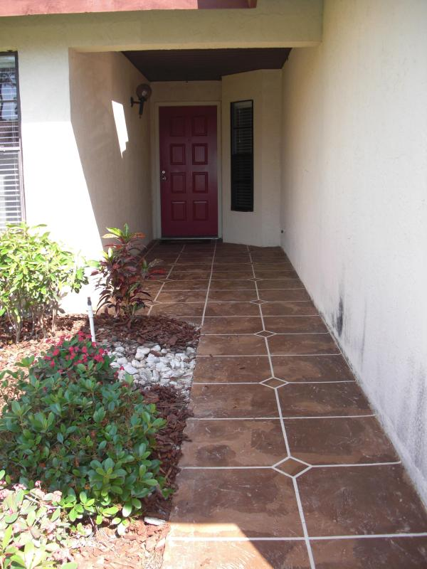 Entryway to villa - Your Vacation In Paradise! Avail beginning Aug. 23 - Sarasota - rentals