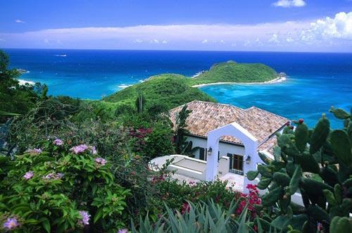 View of Leeward and beyond - Leeward St. John Villa - Saint John - rentals