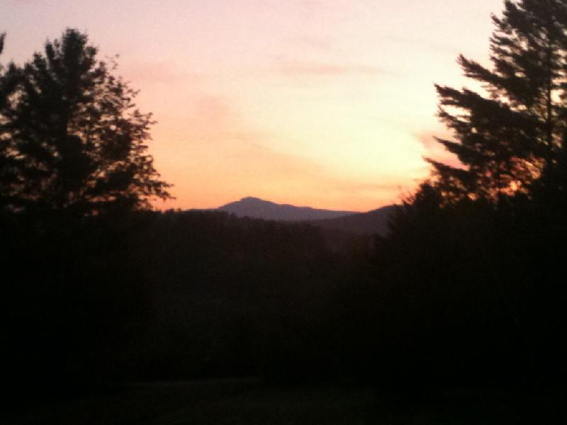 Our Sweet Mountain View!