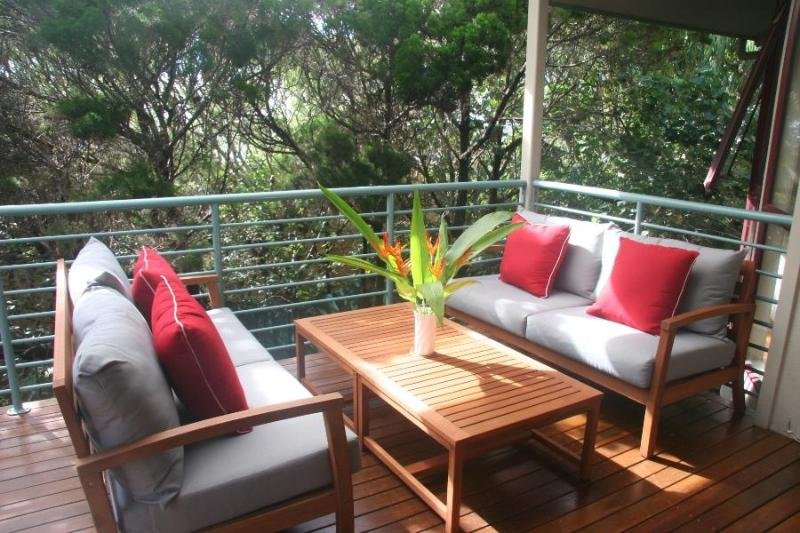 The main verandah; a perfect place to relax and unwind