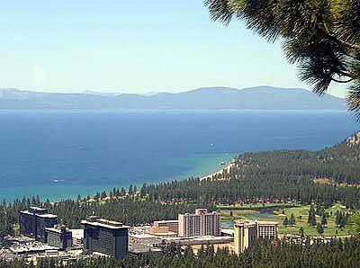 View of downtown Lake Tahoe