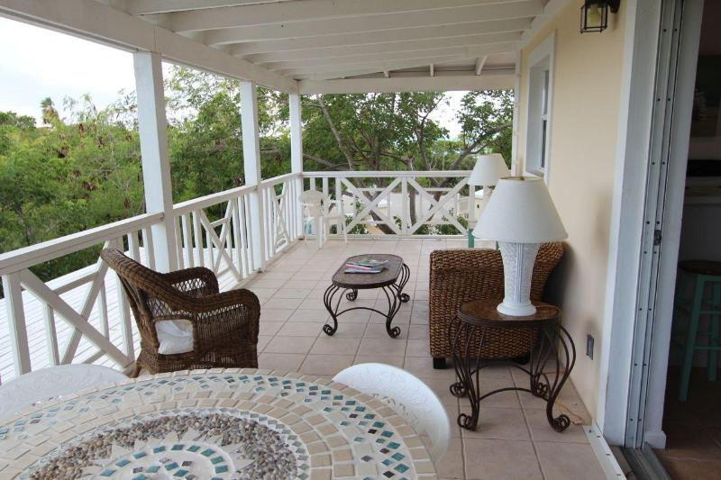 Screened Porch - White Osprey Guesthouse - Providenciales - rentals