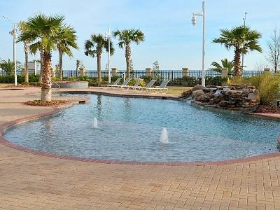 Sparking inviting outdoor pool w/ Beach Views