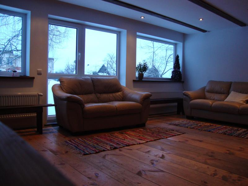 Holiday house in Latvia - living room