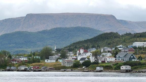Woody Point from Bonne Bay