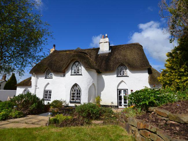 A stunning, traditional thatched cottage