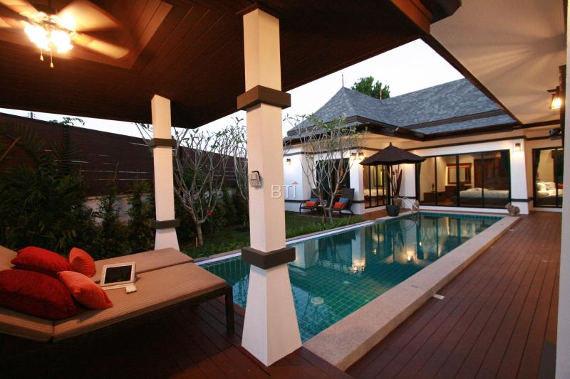 Luxury 3 Bedroom Villa near Chalong Bay + Security - Image 1 - Phuket - rentals