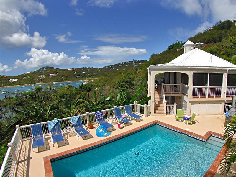 Calypso is a wonderful villa with a totally fabulous pool and setting!