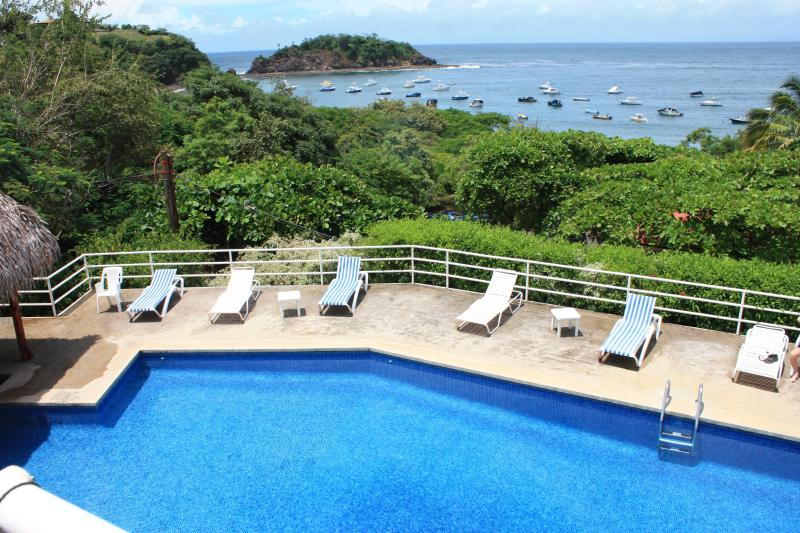The Swimming Pool Beside our Villa offers spectaculars views