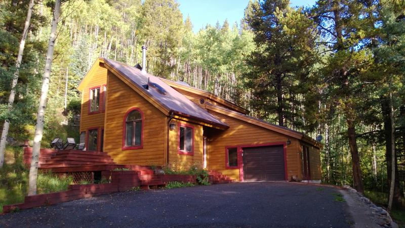 Fall at the Crystal Spruce Cabin