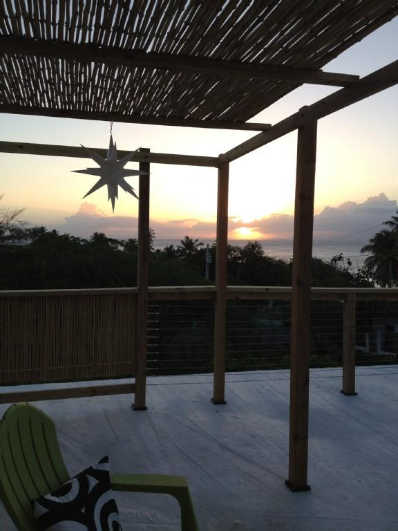 Casa Estrella:  Enjoy the Roof Deck at Sunset - Casa Estrella--An Island Retreat - Vieques - rentals