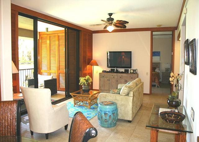 Large Living Area! Newly upgraded - Oceanview!! Private Beach Access! Newly upgraded - Kamuela - rentals