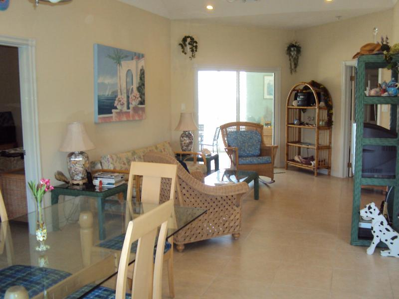 livining and dining room