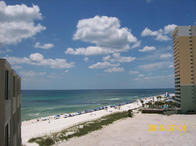 Great for that summer get-a-way!!!  Moon Drifter 308 Gulf Front - Image 1 - Panama City Beach - rentals