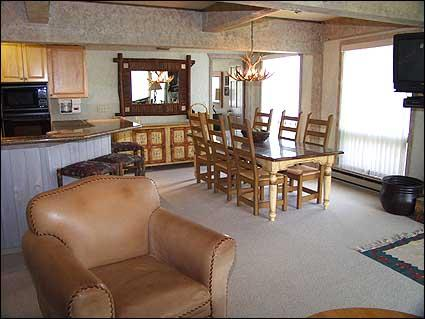 Tastefully decorated living area