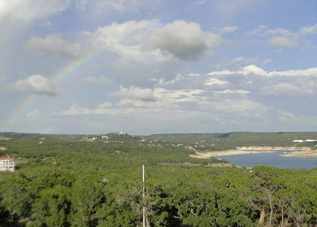 Can you find the Rainbow? - 3rd Night FREE! Beautfiul 3bdr Condo at The Hollows on Lake Travis! - Jonestown - rentals