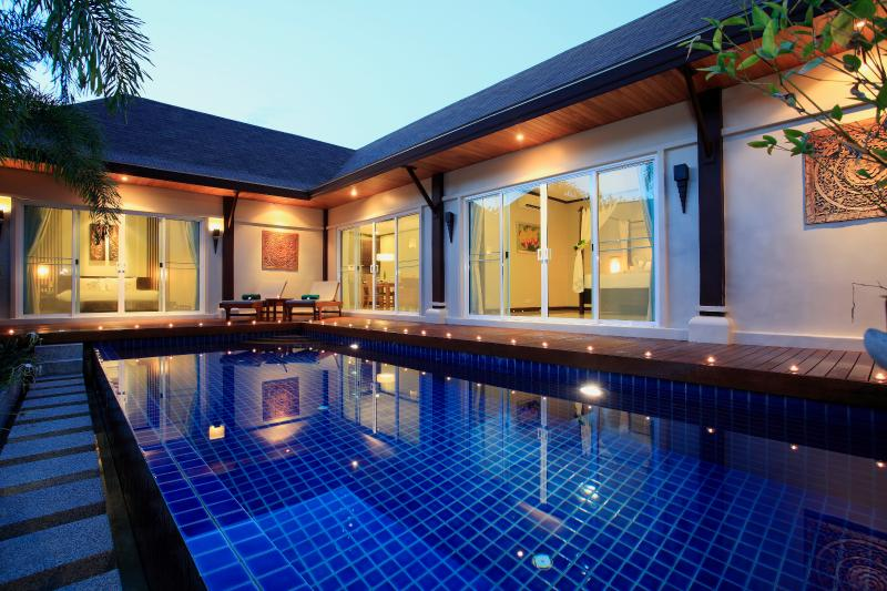 Two bedroom Pool Villa with private pool, terrace and lush garden