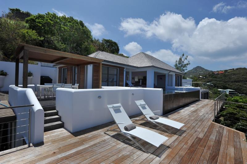 Khajuraho at Pointe Milou, St. Barth - Amazing Sunset And Ocean View, Very Private - Image 1 - Pointe Milou - rentals