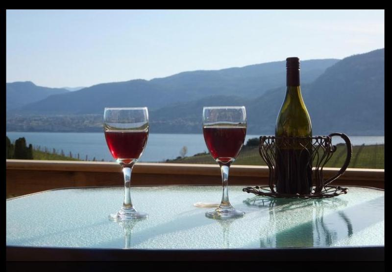 Drink in the view from your private Courtyard Deck at Sormovila.