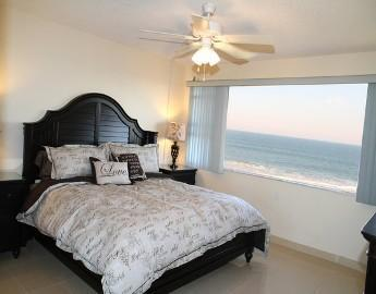 Master Bedroom with an Amazing Ocean View! Includes a King Bed with a Tempur-Pedic Mattress