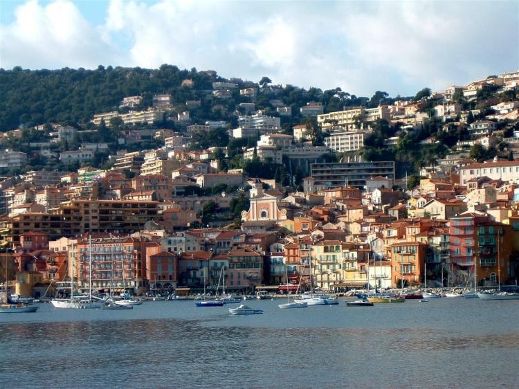 In the heart of Villefranche sur mer historical