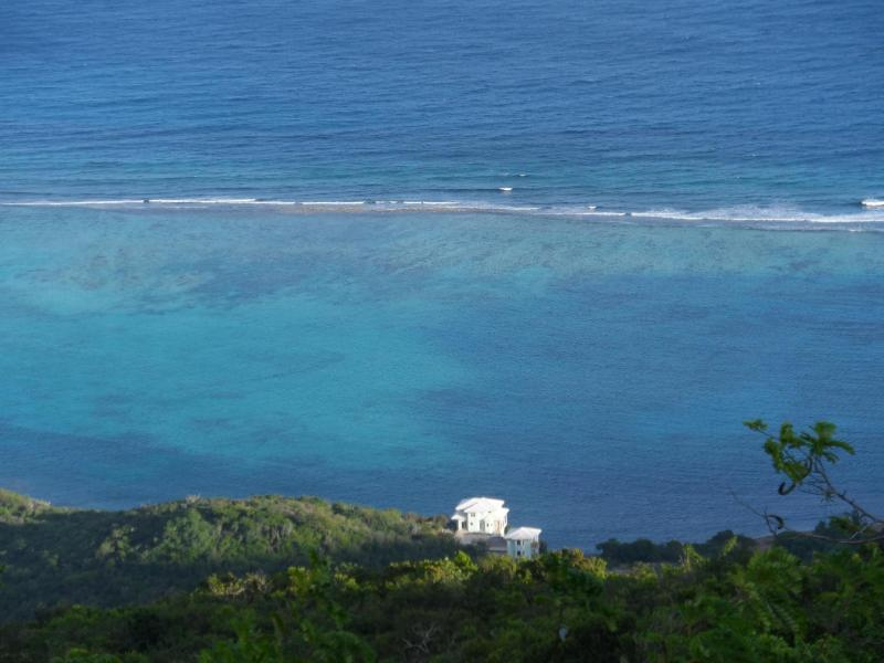 Villa setting as seen from abovV - Anam Cara Villa - Virgin Gorda - rentals