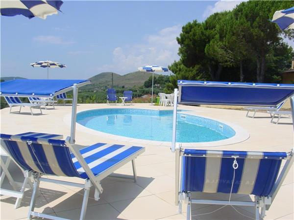 Apartment for 4 persons, with swimming pool , in Sperlonga - Image 1 - Sperlonga - rentals