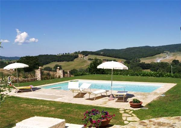 Apartment for 4 persons, with swimming pool , in San Gimignano - Image 1 - Casole D'elsa - rentals