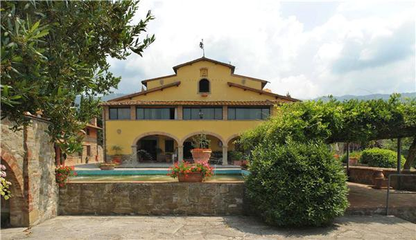 Apartment for 4 persons, with swimming pool , in Florentine Hills - Image 1 - Pelago - rentals