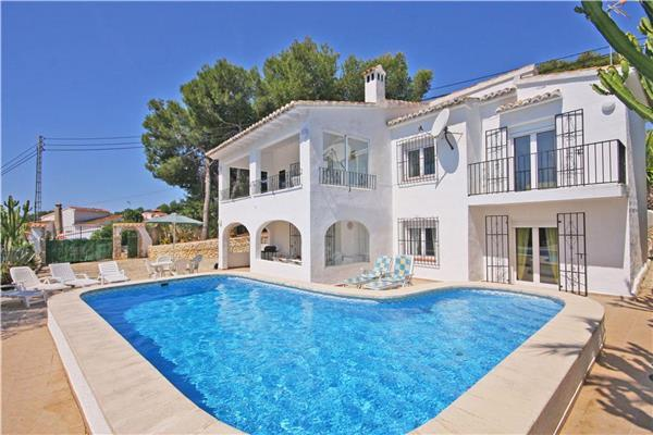 Attractive holiday house for 12 persons, with swimming pool , in Moraira - Image 1 - Benitachell - rentals