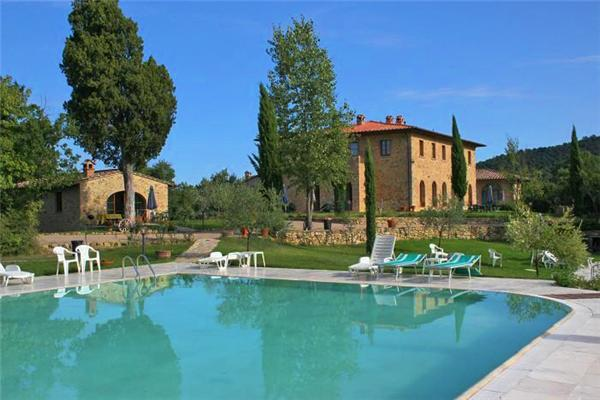 Apartment for 3 persons, with swimming pool , in San Gimignano - Image 1 - Casole D'elsa - rentals