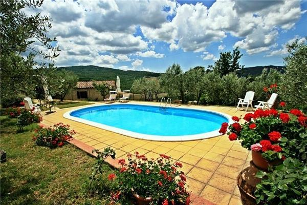 Attractive holiday house for 8 persons, with swimming pool , in Pisa - Image 1 - Pomarance - rentals