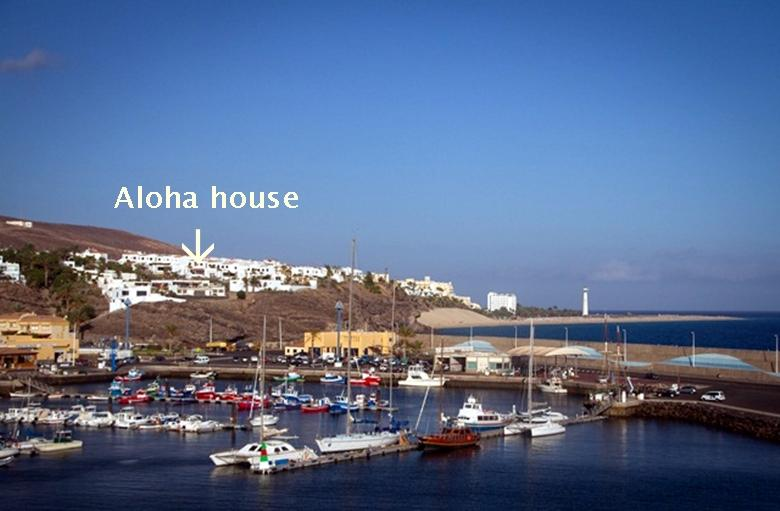 House overlooking the harbour and close to the beach - Aloha Ocean and sunset view house - Morro del Jable - rentals
