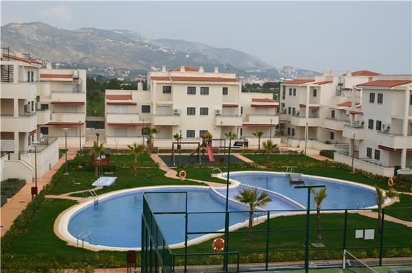 Apartment for 8 persons, with swimming pool , near the beach in Alcoceber - Image 1 - Alcossebre - rentals