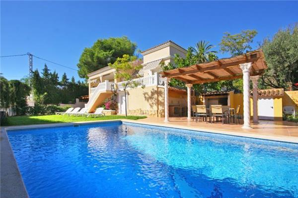 Attractive holiday house for 6 persons, with swimming pool , in Moraira - Image 1 - La Llobella - rentals